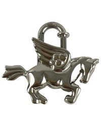 Hermès - Metallic Pre-owned Bag Charm - Lyst
