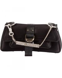 Dior | Black Pre-owned Silk Clutch Bag | Lyst