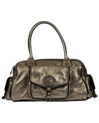Marc By Marc Jacobs - Metallic Pre-owned Leather Handbag - Lyst