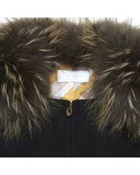 Emilio Pucci - Black Wool Coat - Lyst