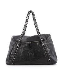 Chanel | Pre-owned Black Leather Handbag | Lyst