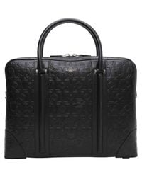 Givenchy - Black Pre-owned Leather Satchel - Lyst