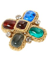 Chanel - Blue Pre-owned Pin & Brooche - Lyst