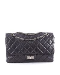 Chanel - Pre-owned Purple Leather Handbag - Lyst