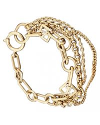 Louis Vuitton - Pre-owned Yellow Metal Bracelet - Lyst