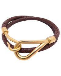 Hermès | Brown Pre-owned Leather Jewellery | Lyst