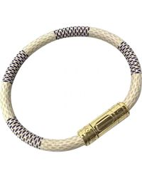 Louis Vuitton - Metallic Pre-owned Keep It Bracelet - Lyst