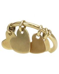 Dior - Metallic Pre-owned Yellow Gold Ring - Lyst