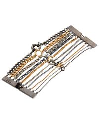 Jean Paul Gaultier - Metallic Pre-owned Multicolour Metal Bracelet - Lyst