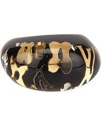 Louis Vuitton - Black Pre-owned Inclusion Ring - Lyst