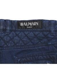 Balmain - Blue Pre-owned Straight Jeans for Men - Lyst