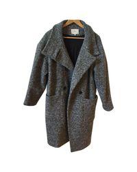 IRO - Gray Pre-owned Grey Wool Coats - Lyst
