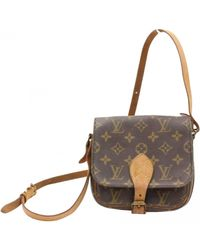 Louis Vuitton - Brown Saint Cloud Cloth Crossbody Bag - Lyst