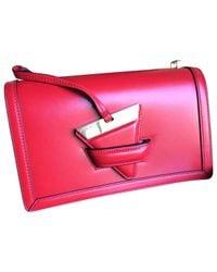 Loewe - Red Barcelona Leather Crossbody Bag - Lyst
