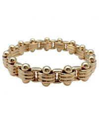 BVLGARI - Metallic Yellow Gold Bracelet - Lyst