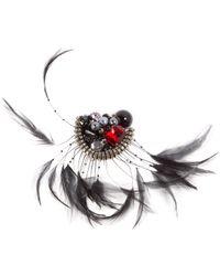 Marc Jacobs - Black Pin & Brooche - Lyst