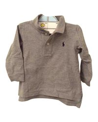 Polo Ralph Lauren - Gray Pre-owned Grey Cotton Tops - Lyst