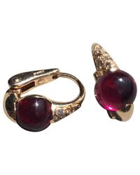 Pomellato - Red M'ama Non M'ama Pink Gold Earrings - Lyst