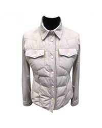Moncler - Gray Jacket - Lyst