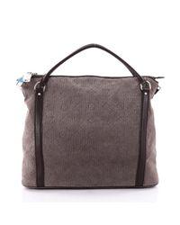 Louis Vuitton - Brown Leather Handbag - Lyst