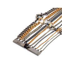 Jean Paul Gaultier - Metallic Pre-owned Multicolour Metal Bracelet - Lyst