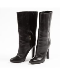 Alexander Wang - Black Pre-owned Leather Boots - Lyst