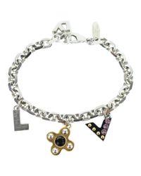 Louis Vuitton - Metallic Pre-owned Silver Metal Bracelet - Lyst