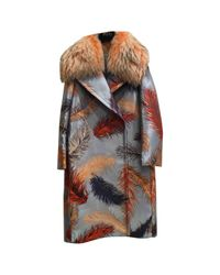 Emilio Pucci - Multicolor Other Polyester Coat - Lyst