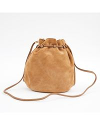 Ferragamo - Multicolor Camel Suede Handbag - Lyst