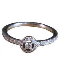 Messika - Pre-owned Joy White Gold Ring - Lyst