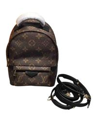 Louis Vuitton - Brown Palm Springs Cloth Backpack - Lyst