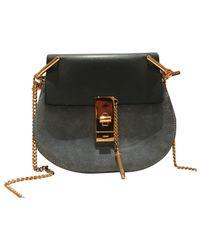 Chloé - Blue Drew Leather Handbag - Lyst