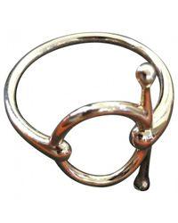 Hermès - Metallic Pink Gold Ring - Lyst
