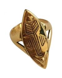 Chloé - Metallic Pre-owned Ring - Lyst