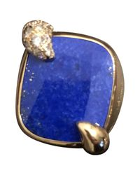 Pomellato - Blue Pre-owned Pink Gold Ring - Lyst