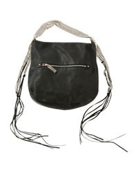 Christian Louboutin - Black Pre-owned Leather Handbag - Lyst