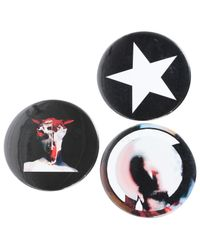 Givenchy - Black Pin & Brooche - Lyst