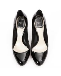 Dior - Black Pre-owned Patent Leather Heels - Lyst