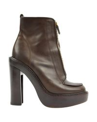 Givenchy - Brown Leather Boots - Lyst