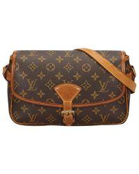 Louis Vuitton - Brown Sologne Cloth Handbag - Lyst
