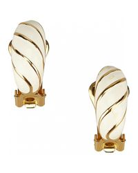 Dior - Metallic Earrings - Lyst