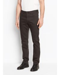 Vince | Multicolor Stretch Twill Trouser for Men | Lyst