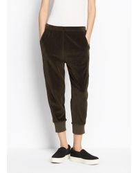 Vince | Multicolor Velour Cuffed Jogger | Lyst