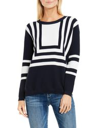 Vince Camuto | Blue Two By Intarsia Sweater | Lyst