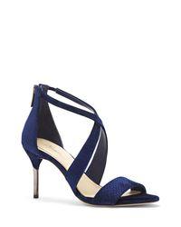 Vince Camuto - Natural Imagine Pascal3 – Velvet Dress Sandal - Lyst