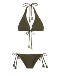 Vince Camuto | Multicolor Studded Bikini Bottom | Lyst