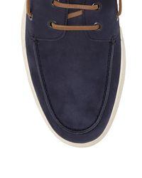 Vince Camuto - Blue Gregg – Nubuck Boat Shoe for Men - Lyst