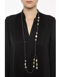 Givenchy - Black Chaplet-inspired Necklace - Lyst