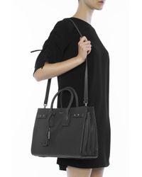 Saint Laurent - Black 'sac De Jour' Shoulder Bag - Lyst