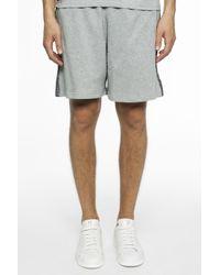 Philipp Plein - Gray Side-stripe Shorts for Men - Lyst